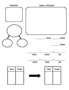 Introducing Place Value- Tens and Ones Practice