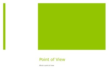 Introducing Point of View