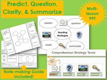 Reciprocal Teaching: Predict, Question, Clarify, and Summarize POWER POINT