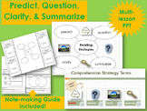 Reciprocal Teaching: Predict, Question, Clarify, and Summa