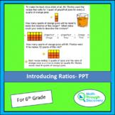 Introducing Ratios - PPT