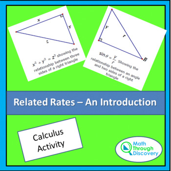 Calculus - Related Rates - An Introduction