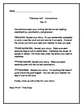Worksheet Correct Writing Process Of The Letters E introducing six traits and writing process fall version by version