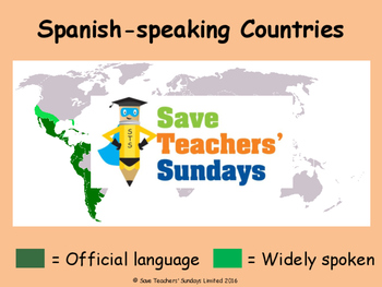 Introducing Spanish Unit (6 lessons) - All lessons have AUDIO clips