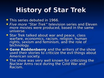 Introducing Star Trek