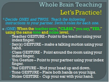 Introducing Students to Whole Brain Teaching and Punctuating Titles
