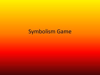 FREE - Introducing Symbolism Game