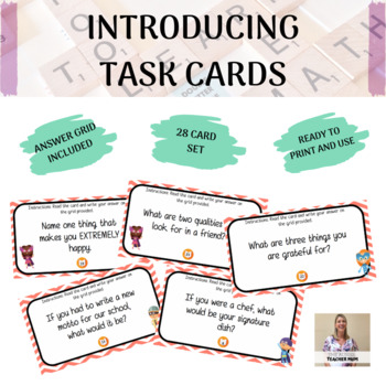 Introducing Task Cards