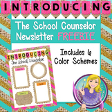 Introducing The School Counselor Newsletter Template FREEBIE