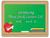 Introducing Three Stick Letters, KNY and Z