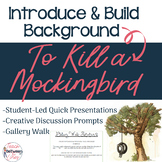 Introducing To Kill a Mockingbird- 3 Complete Activities