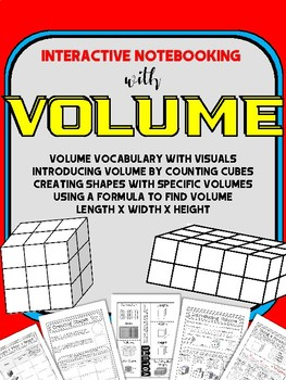 Introducing Volume: Interactive Notebook Unit