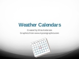 Introducing Weather Calendars
