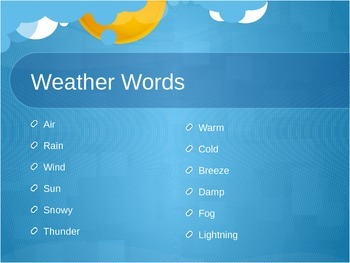 Introducing Weather Journals