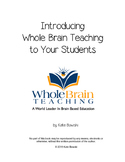 Introducing Whole Brain Teaching to Your Students