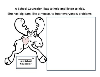 Introducing Your School Counselor &  Listening Activity