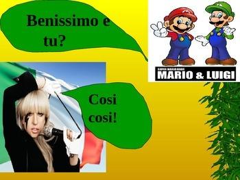 Introducing Yourself in Italian-Beginner