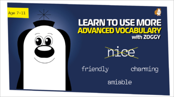 Introducing Zoggy: Am I A 'Nice' Guy? Breakthrough In Vocabulary Work Pack 7-11