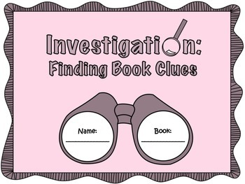 Introducing a Book - Finding Book Clues