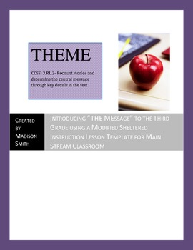 Introducing and Finding Themes in Literature