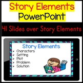 Introducing and Practicing Story Elements PowerPoint Lesson