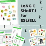 Long E short i vowels articulation worksheets Complete lesson plan ESL/EFL