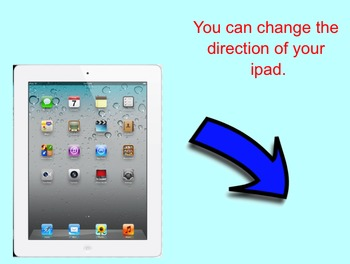 Introducing students to iPads