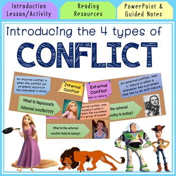 Introducing the 4 Types of Conflict with Videos