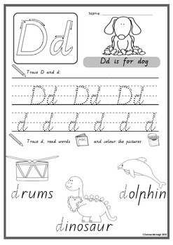 Alphabet Worksheets - Introducing phonics ~ Miss Mac Attack ~