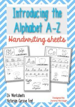 Alphabet Worksheets - Introducing phonics ~ Miss Mac Attack ~