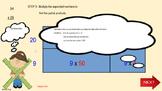 Introducing the Area model (box  method)  multiplication