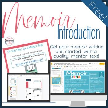 Introducing the Memoir with a Mentor Text