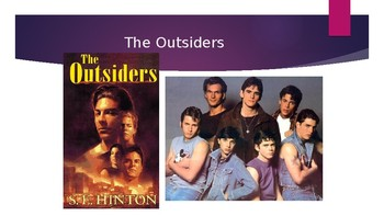 Introducing the Outsiders Powerpoint