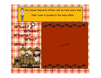 Introducing the School Resource Officer SMART Board Lesson