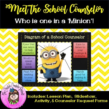 Minions Meet the School Counselor Introducing your Role