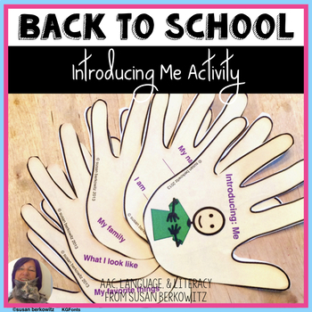 Introducing:Me; A back to school About Me book to write