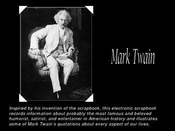 Introduction & Biography of Mark Twain (Sawyer Finn) PPT
