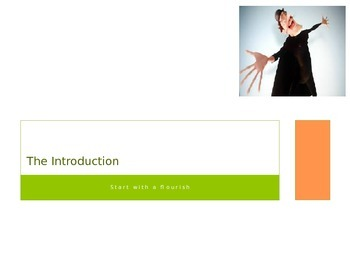 Introduction - Body - Conclusion