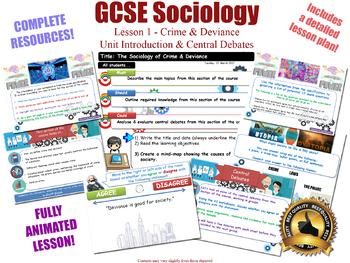 Introduction & Central Debates - Crime & Deviance [AQA GCSE Sociology] 1/20