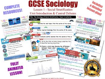 Introduction & Central Debates - Social Stratification (GCSE Sociology - L1/20)