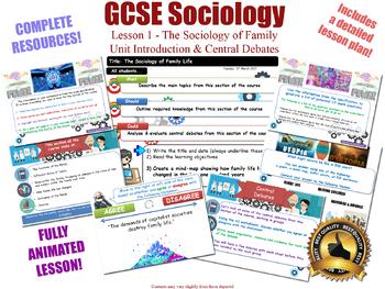 Introduction & Central Debates - Sociology of Family [GCSE Sociology - L1/20]