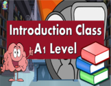 Introduction Class. ESL/ESOL PowerPoint Lesson for A1 Level Students