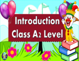 Introduction Class. ESL/ESOL PowerPoint Lesson for A2 Level Students