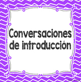 Introduction Conversations Freebie