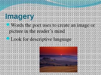 Introduction:  Figurative Language and Poetic Devices