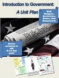 Introduction to Government: A Unit Plan