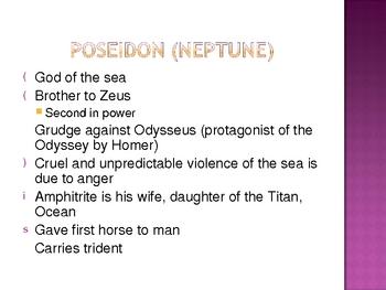 Introduction:  Greek and Roman Mythology
