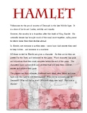 Introduction Hamlet - A Live Action Role Play of Shakespeare