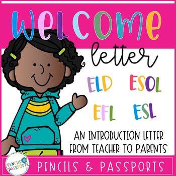 Introduction Letter for Parents from ESL Teachers