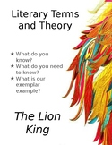 Introduction:  Literary Terms and Theory using The Lion King